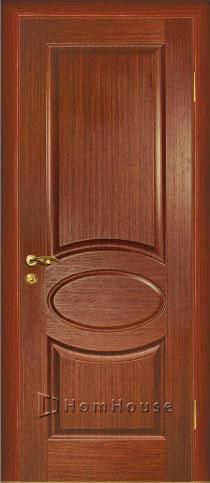 межкомнатная дверь красное дерево