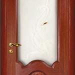 межкомнатная дверь кардинал красное дерево