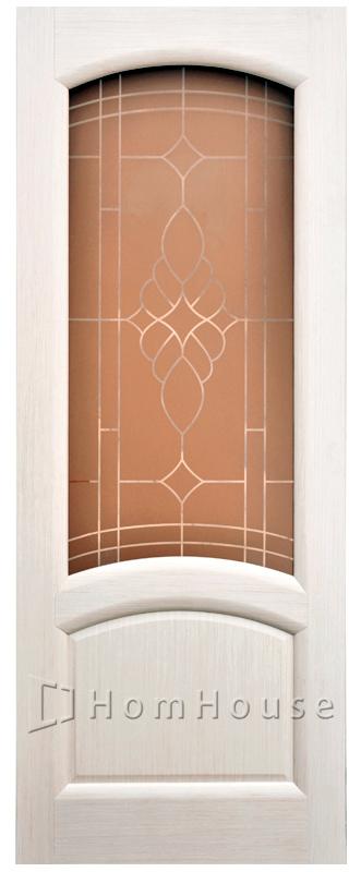 межкомнатные двери шпон Соло
