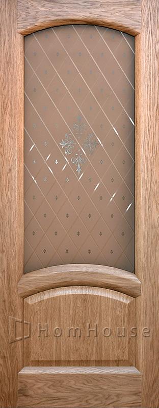 Дверь Соло натуральный дуб