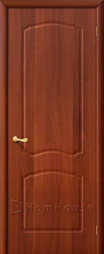 Межкомнатная дверь итальянский орех