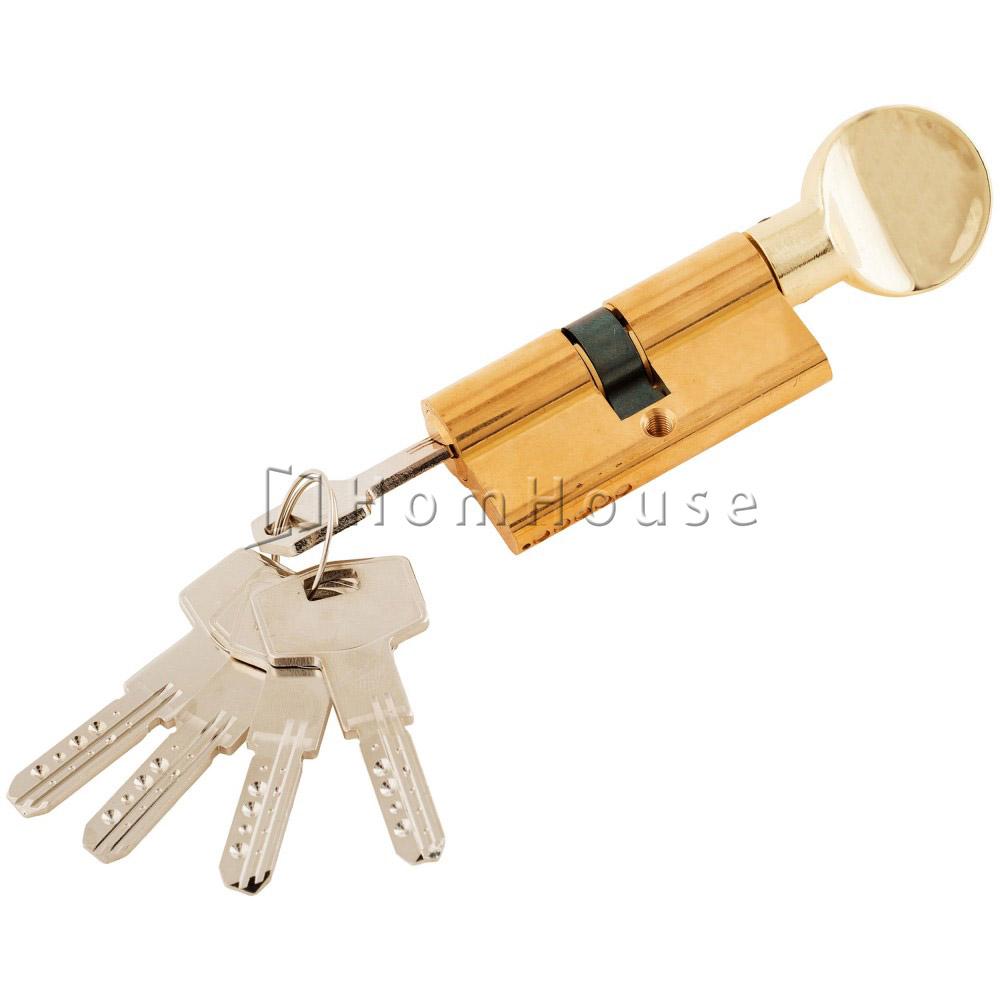 Цилиндр ключ+фиксатор Kale 164 BM