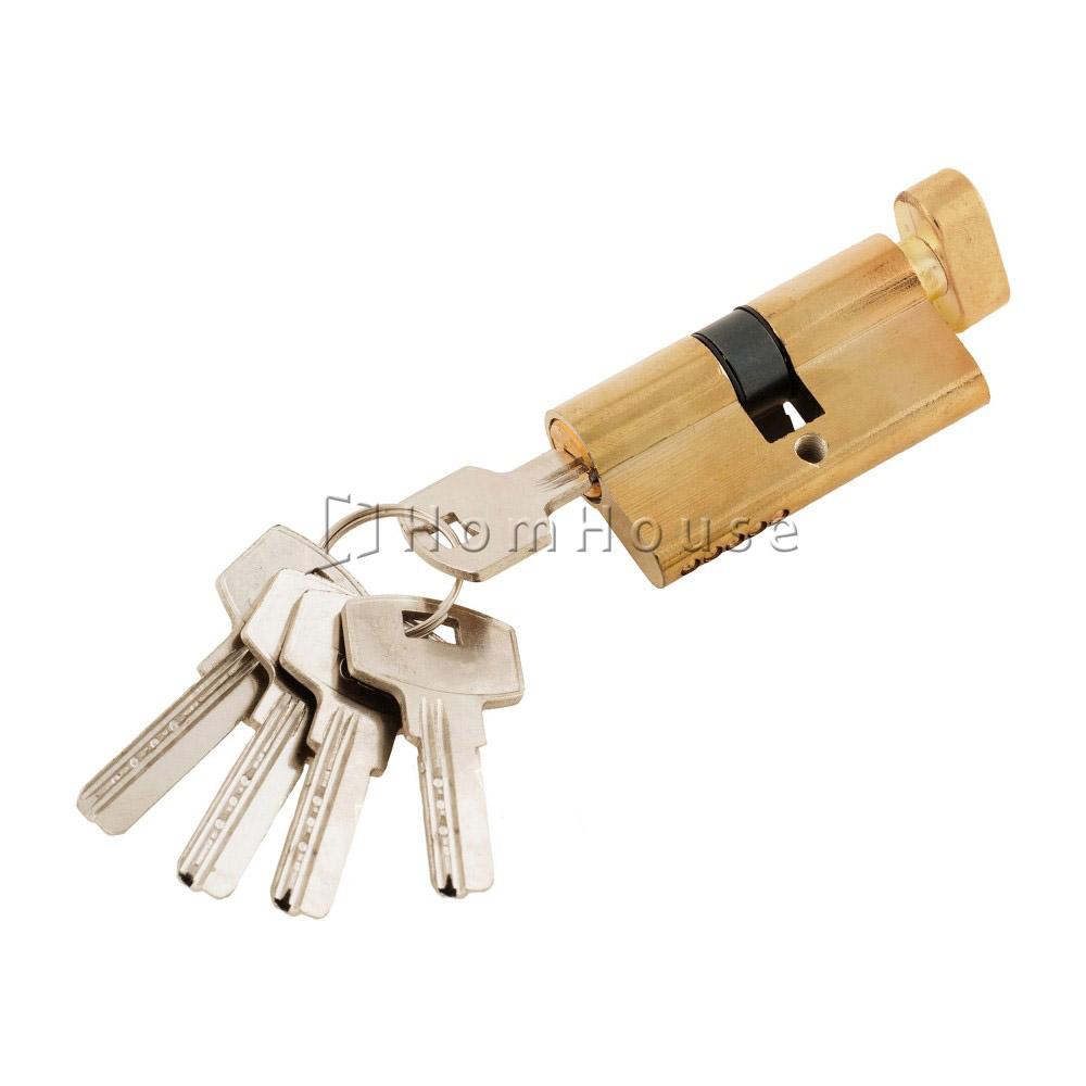 Цилиндр ключ+фиксатор