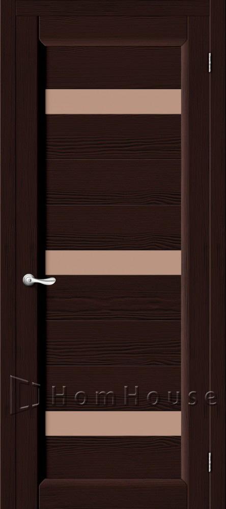 межкомнатные двери из массива венге