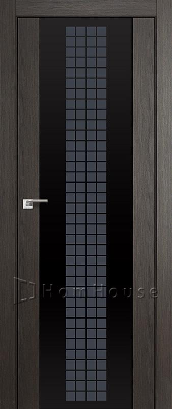 Дверь 8X Грей Кроскут