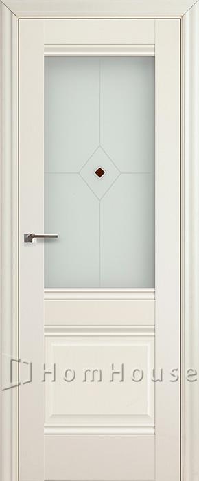 Межкомнатная дверь 2X Эш Вайт