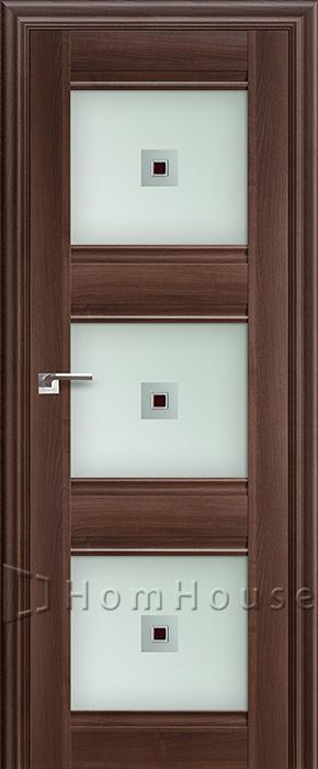 Межкомнатная дверь 4X Орех Сиена