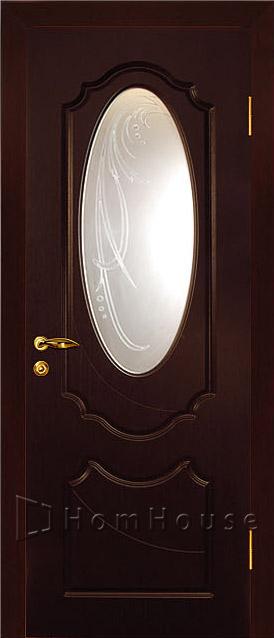 Межкомнатная дверь Венге