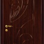 межкомнатная дверь черное дерево