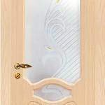 межкомнатная дверь беленый дуб