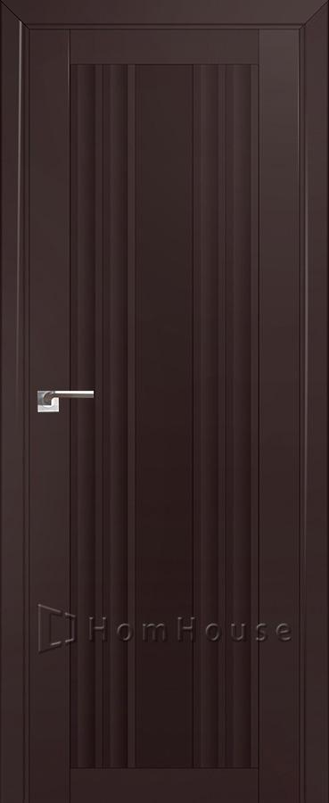 Дверь 52U Темно Коричневый