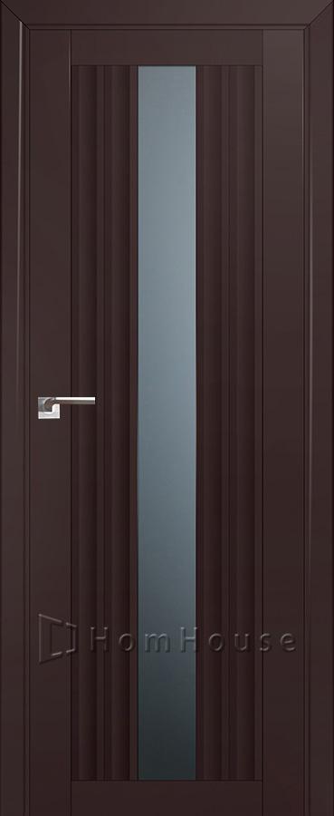 Дверь 53U Темно Коричневый