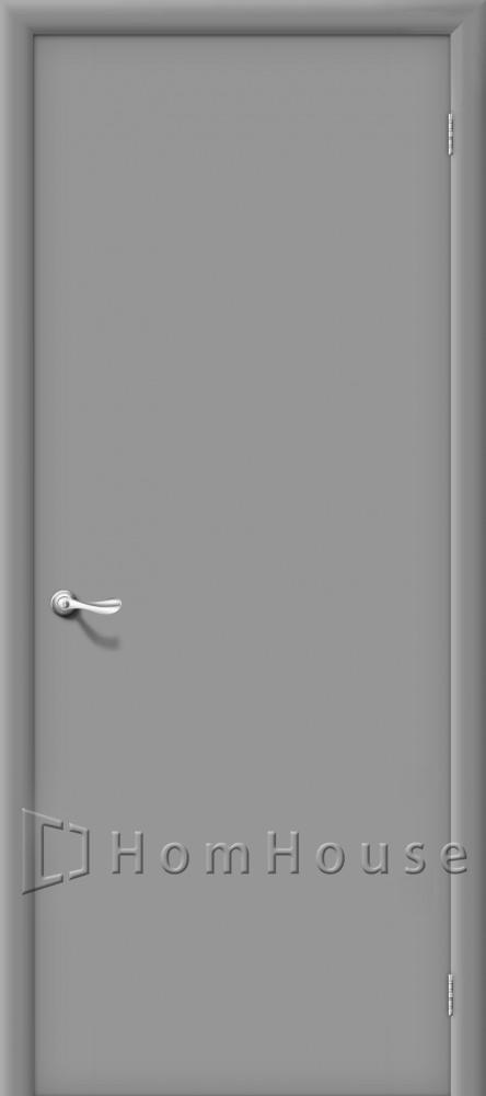 строительные двери серый