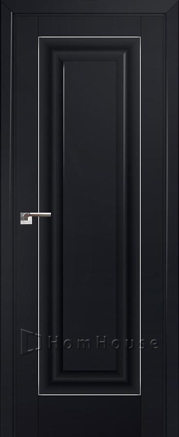 Дверь 23U Черный Матовый