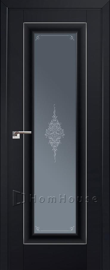 Дверь 24U Черный Матовый