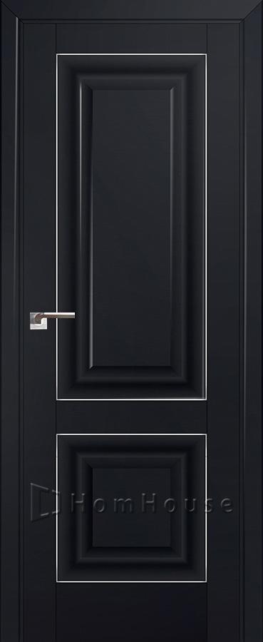 Дверь 27U Черный Матовый