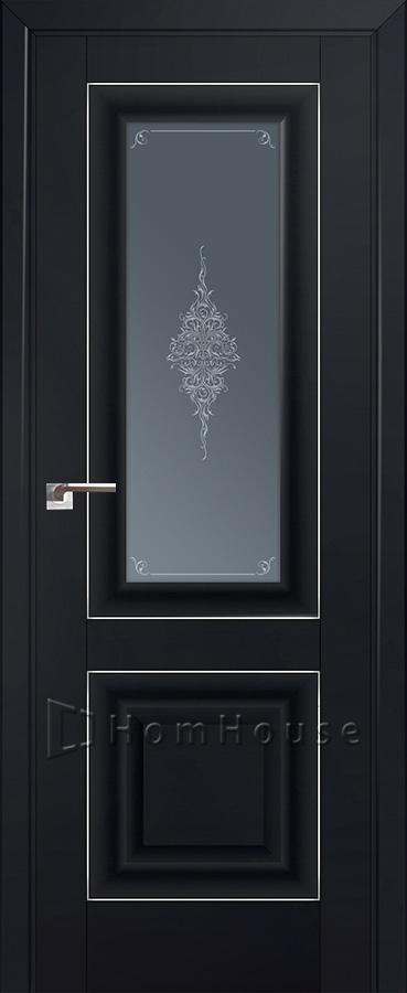 Дверь 28U Черный Матовый