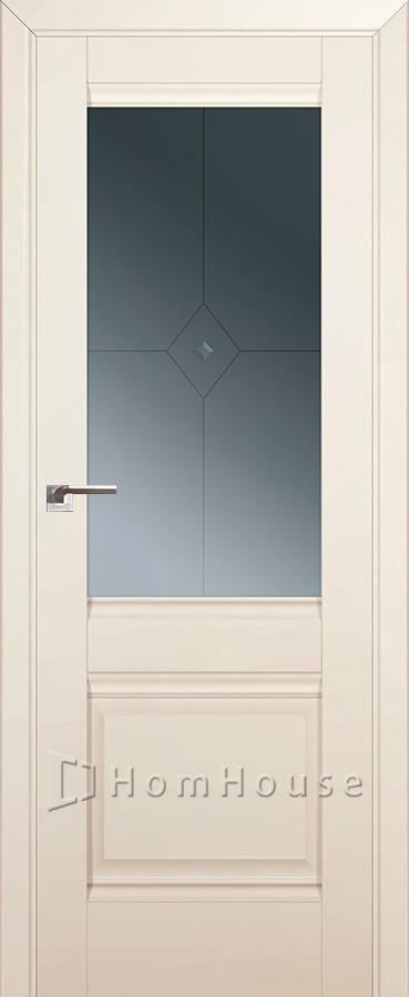 Дверь 2U Магнолия Сатинат
