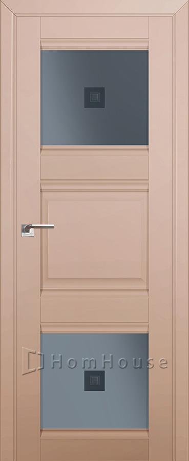 Дверь 6U Капучино Сатинат