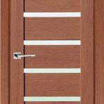 Двери экошпон Степ 07 Орех Ночавелла