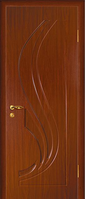 дверь пвх трио итальянский орех