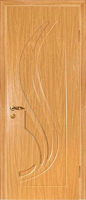 дверь пвх трио миланский орех
