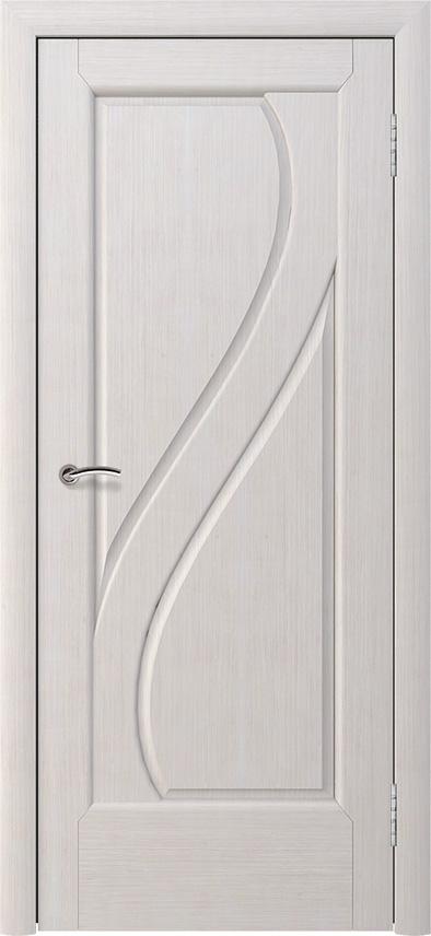 Шпонированная дверь - Белёный дуб