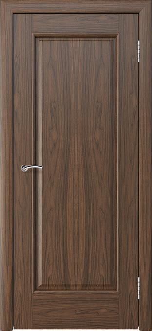 шпонированная дверь - американский орех
