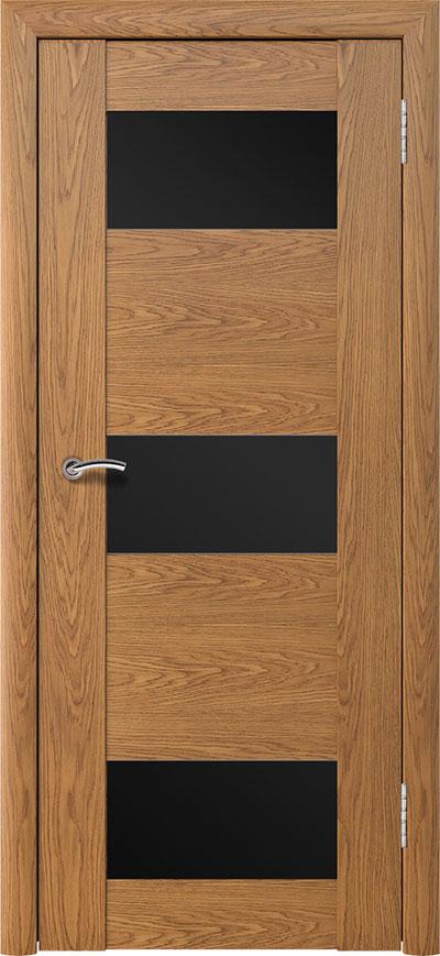 Шпонированная дверь - Дуб натуральный