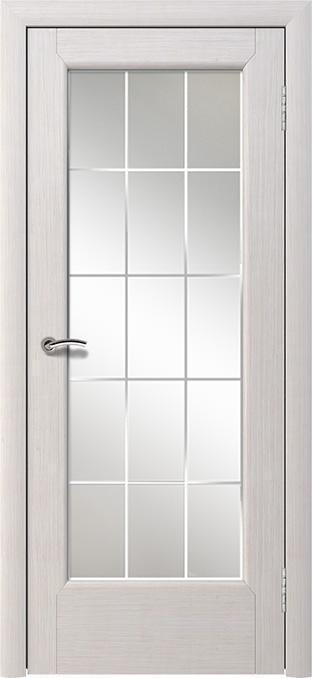 Шпонированная дверь - Дуб беленый