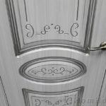 Межкомнатная дверь Виктория Сандал белый