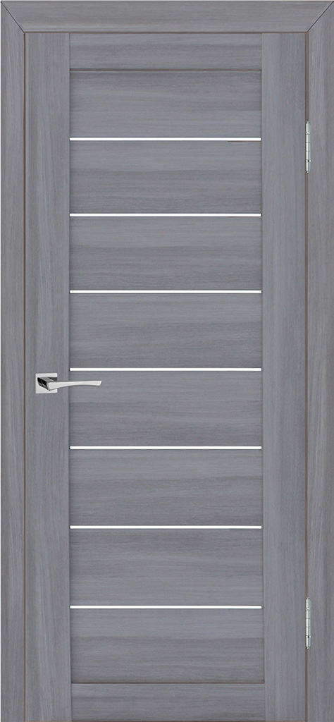 Двери экошпон Степ 08 Светло серый