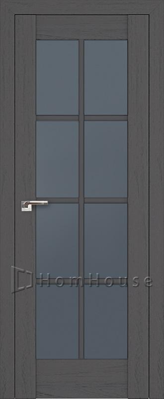 Межкомнатная дверь 101X Пекан темный