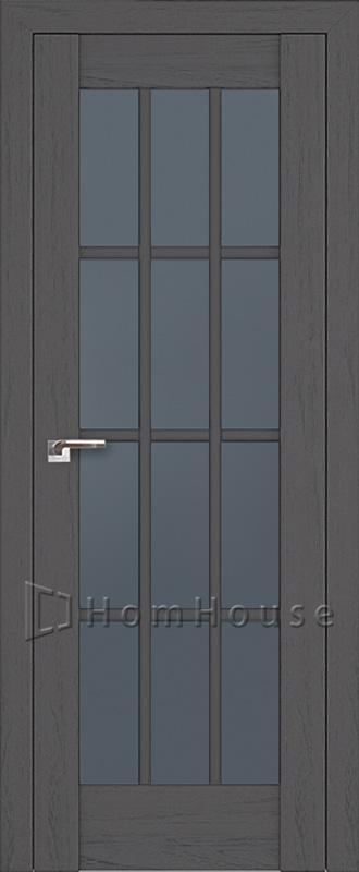 Межкомнатная дверь 102X Пекан темный