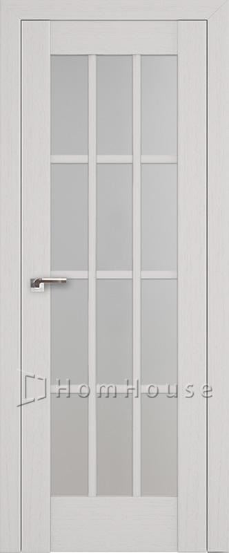 Межкомнатная дверь 102X Пекан белый