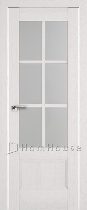 Межкомнатная дверь 103X Пекан белый