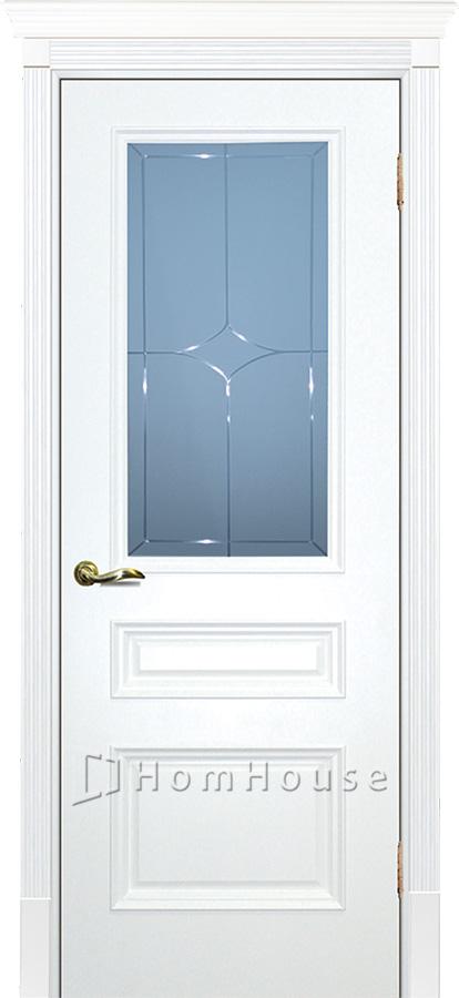 Дверь Смальта 06 Белый