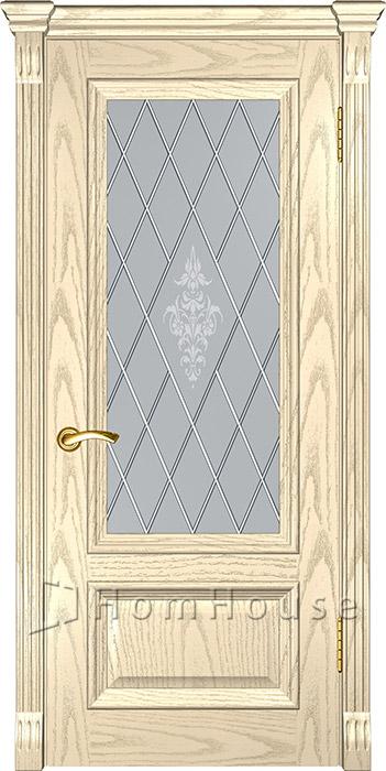 Дверь Фараон Слоновая кость