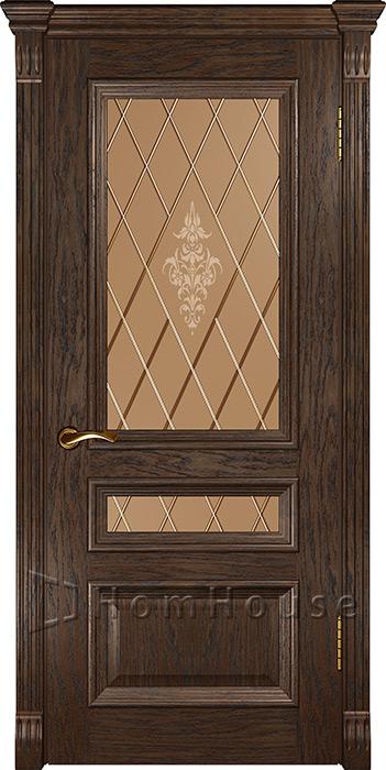 Дверь Фараон 2 Мореный дуб