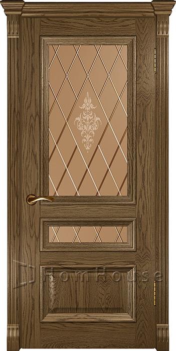 Дверь Фараон 2 Светлый мореный дуб