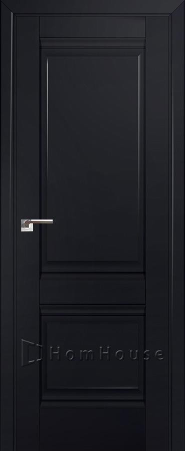 Дверь 1U Черный Матовый