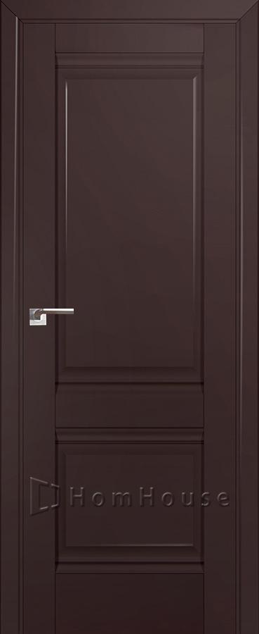 Дверь 1U Темно Коричневый