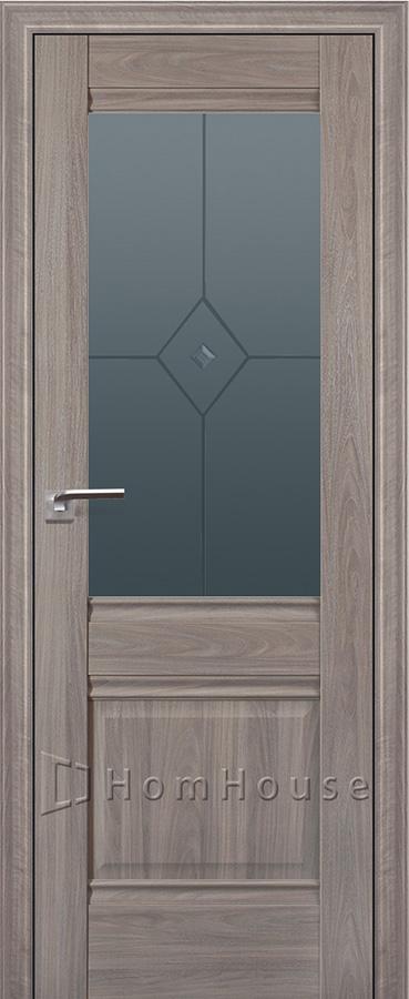 Межкомнатная дверь 2X Орех Пекан