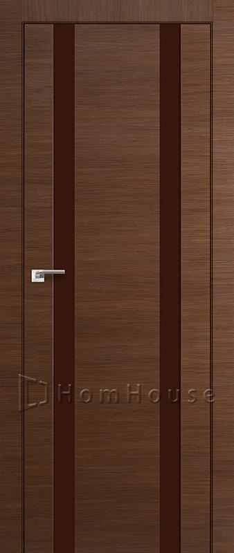 Дверь 63X Малага Черри Кроскут