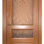 Дверь Готика Орех