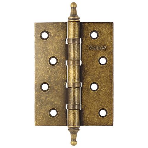 Петля дверная состаренная бронза