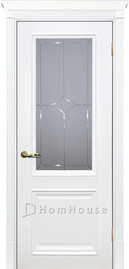 Дверь Смальта 07 Белый