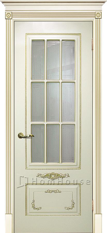 Дверь Смальта 09 Слоновая кость