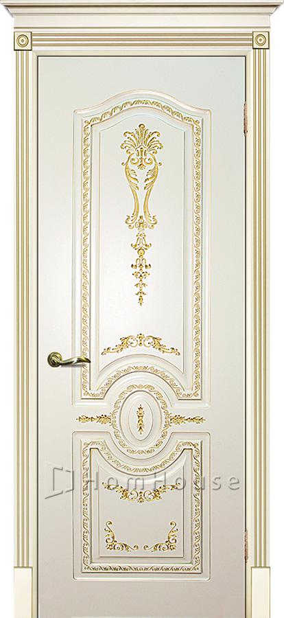 Дверь Смальта 11 Слоновая кость