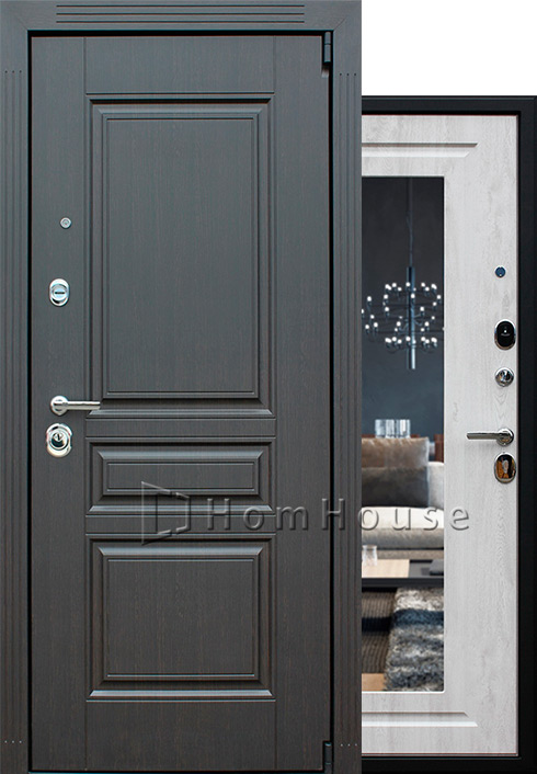 Входная дверь Гермес NEW с зеркалом ELIT